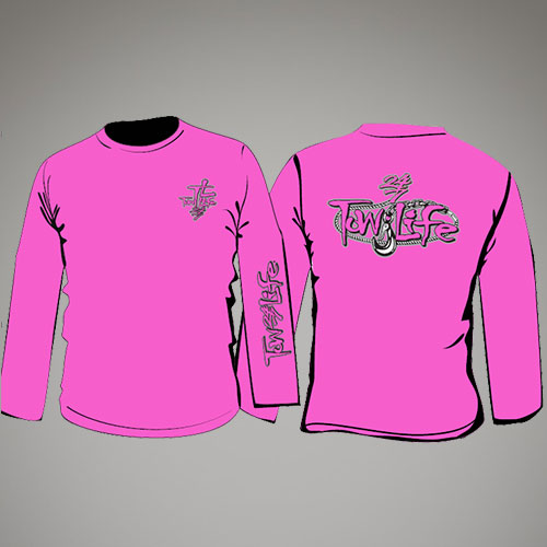 Tow Life Pink Long Sleeve